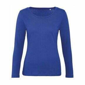 camiseta manga corta algodón orgánico mujer color azul royal 2701842 B&C
