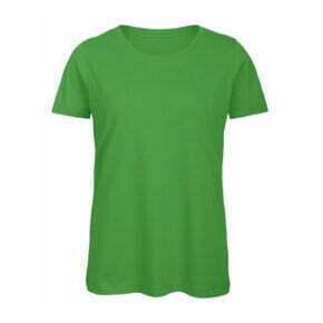 camiseta manga corta algodón orgánico mujer color verde 2718942 B&C