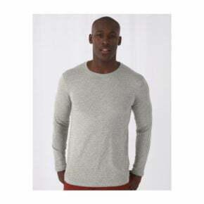 camiseta manga larga algodon organico b&c 2710242