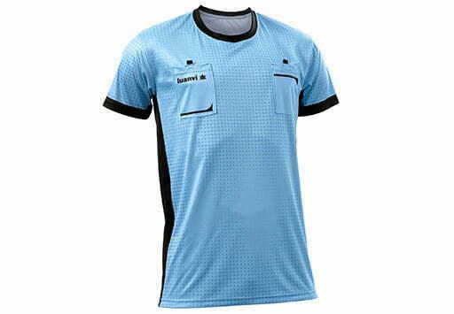 Camiseta de portero manga corta color celeste - 11481 Luanvi