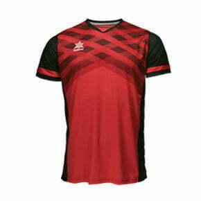 Camiseta fútbol manga corta color rojo - 15107 Luanvi