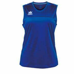Camiseta baloncesto mujer color azul - 11375 Luanvi