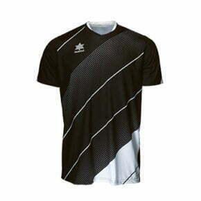 Camiseta fútbol manga corta color negro - 15108 - Luanvi