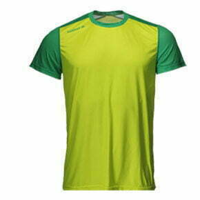 Camiseta técnica atletismo manga corta color verde - 15109 Luanvi