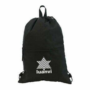 Bolsa deportiva color negro - 11138 Luanvi