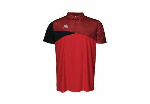 Polo deportivo especial tenis y pádel - color rojo - 15117 Luanvi