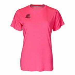 Camiseta fútbol mujer manga corta color rosa - 15141 Luanvi
