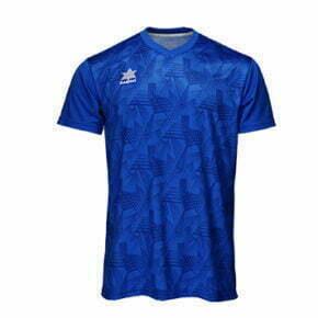 Camiseta fútbol manga corta color azul - 15105 Luanvi