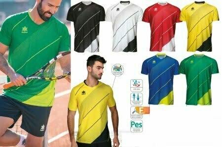 ropa tenis y padel personalizada