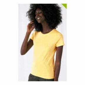 Camiseta organica personalizada online manga corta mujer gildan 2700242