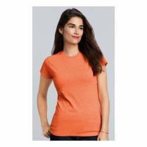Camiseta personalizada online baratas manga corta mujer gildan 2713109