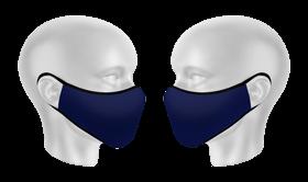 mascarilla reutilizable personalizada azul bandera espana bf