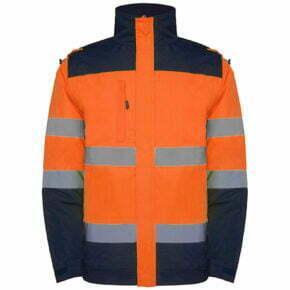 Parka alta visibilidad ropa de trabajo barata Roly 169304, 100% poliéster