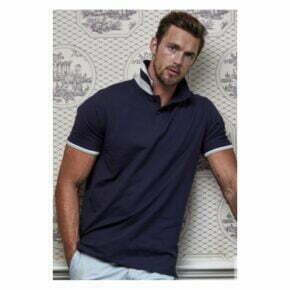 Polo personalizado bordado de hombre Tee Jays alta calidad 50454