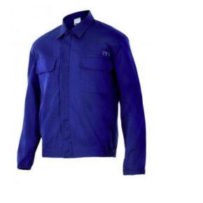 Ropa de trabajo barata Cazadora ignífuga antiestática Velilla serie 606003, Sarga. 97% algodón - 3% antiestático
