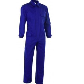 Ropa de trabajo barata Mono ignífugo antiestático Velilla serie 602003, Sarga. 97% algodón - 3% antiestático. Algodón tratado.