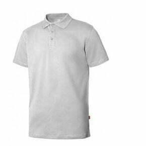 Ropa de trabajo barata Polo manga corta hombre industria base Velilla serie 105508S, 96% algodón, 4% elastano