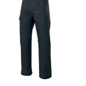 Ropa de trabajo barata pantalón largo multibolsillos industria base Velilla serie 103006, 35% algodón 65% poliéster
