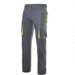 Ropa de trabajo barata pantalón stretch bicolor industria base Velilla serie 103008S, 46% algodón 16% poliéster 38% EMET