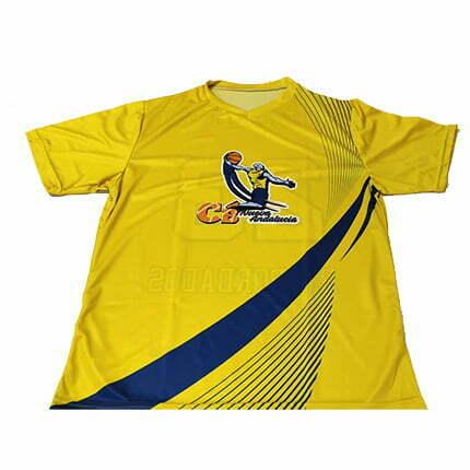 Servicio de sublimación textil al por mayor camisetas