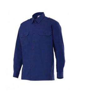 Ropa de trabajo barata camisa manga larga industria base Velilla serie 534, 100% algodón