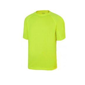 Ropa de trabajo barata camiseta manga corta industria base Velilla serie 105506, 100% poliéster