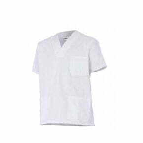 Ropa de trabajo barata camisola pijama manga corta sanidad y limpieza Velilla serie 535205, 100% algodón