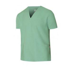 Ropa de trabajo barata camisola pijama manga corta sanidad y limpieza Velilla serie 535207, 100% poliéster