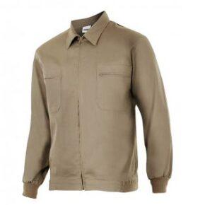 Ropa de trabajo barata cazadora industria base Velilla serie 61601, 20% algodón 80% poliéster