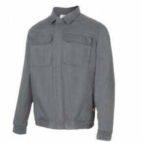 Ropa de trabajo barata cazadora laboral industria base Velilla serie 106003, 100% algodón