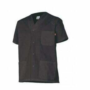 Ropa de trabajo barata chaqueta pijama manga corta sanidad y limpieza Velilla serie 535201, 35% algodón 65% poliéster