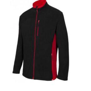 Ropa de trabajo barata chaqueta polar bicolor industria base Velilla serie 201504, 100% poliéster