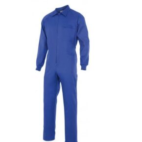 Ropa de trabajo barata mono laboral industria base Velilla serie 21600, 35% algodón 65% poliéster