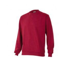 Ropa de trabajo barata sudadera laboral industria base Velilla serie 105701, 35% algodón 65% poliéster