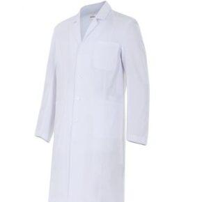 Ropa de trabajo barata bata de hombre sanidad y limpieza Velilla serie 539001, 35% algodón 65% poliéster