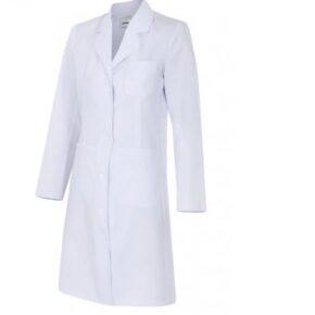 Ropa de trabajo barata bata de mujer sanidad y limpieza Velilla serie 539002, 35% algodón 65% poliéster