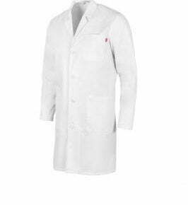 Ropa de trabajo barata bata manga larga unisex sanidad y limpieza Velilla serie 539004, 20% algodón 80% poliéster