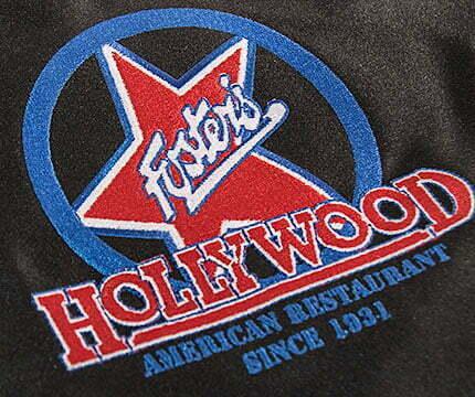 ropa de trabajo personalizada fosters hollywood