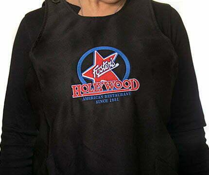 ropa de trabajo personalizada delantal fosters hollywood