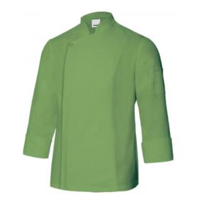 Ropa de trabajo barata Chaqueta cocina unisex Velilla-Serie 405202TC